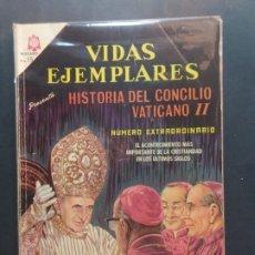 Tebeos: VIDAS EJEMPLARES EXTRAORDINARIO NOVARO. Lote 181954295