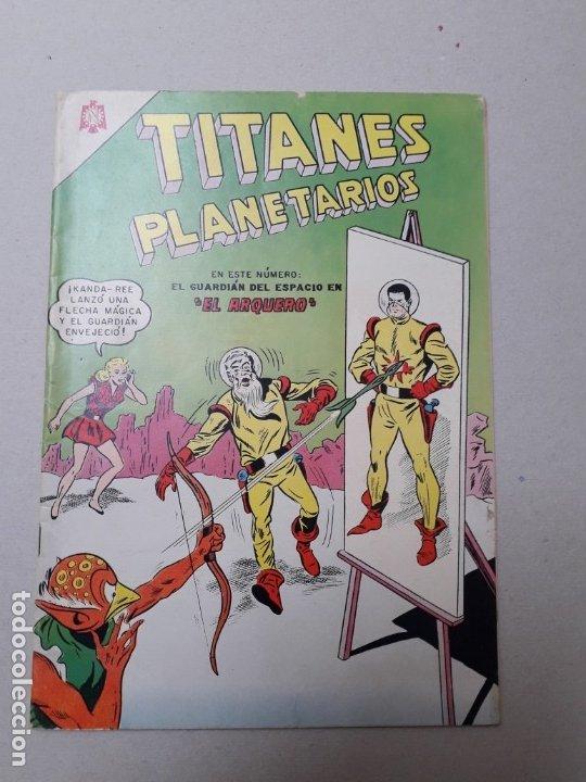 TITANES PLANETARIOS N° 206 - EL ARQUERO (FLAMANTE) - ORIGINAL EDITORIAL NOVARO (Tebeos y Comics - Novaro - Sci-Fi)