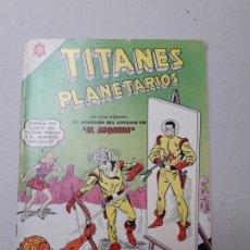 Tebeos: TITANES PLANETARIOS N° 206 - EL ARQUERO (FLAMANTE) - ORIGINAL EDITORIAL NOVARO. Lote 181986260