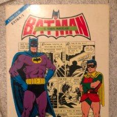 Tebeos: BATMAN EL HOMBRE MURCIELAGO - LIBRO EXTRA NUMERO 1 - NOVARO. Lote 182030576