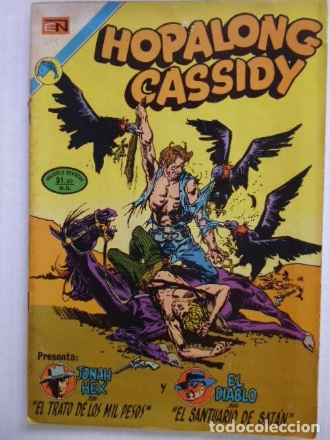 HOPALONG CASSIDY - LOTE DE 8 CÓMICS ORIGINALES DE EDITORIAL NOVARO MEXICO - ENVÍO GRATIS POR DHL (Tebeos y Comics - Novaro - Hopalong Cassidy)