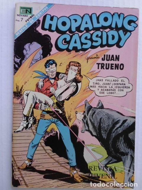Tebeos: HOPALONG CASSIDY - LOTE DE 8 CÓMICS ORIGINALES DE EDITORIAL NOVARO MEXICO - ENVÍO GRATIS POR DHL - Foto 4 - 182042307