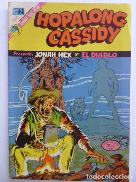 Tebeos: HOPALONG CASSIDY - LOTE DE 8 CÓMICS ORIGINALES DE EDITORIAL NOVARO MEXICO - ENVÍO GRATIS POR DHL - Foto 8 - 182042307