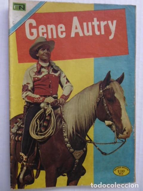 GENE AUTRY - LOTE DE 8 CÓMICS DE EDITORIAL NOVARO MEXICO (Tebeos y Comics - Novaro - Hopalong Cassidy)