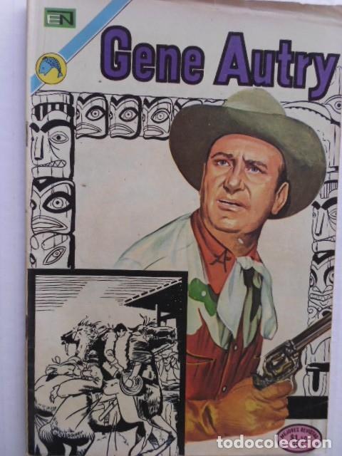 Tebeos: GENE AUTRY - LOTE DE 8 CÓMICS DE EDITORIAL NOVARO MEXICO - Foto 7 - 182042578