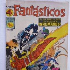 Tebeos: LOS 4 FANTÁSTICOS - LOTE DE OCHO CÓMICS ORIGINALES - EDITORIAL LA PRENSA MEXICO-ENVÍO GRATIS POR DHL. Lote 224895393