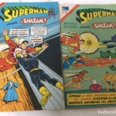 Tebeos: SUPERMAN- SHAZAM - SERIE AGUILA -LOTE DE 2 ( NUM.2-1147- 2-1083). Lote 182069805