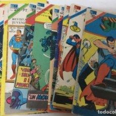 Tebeos: SUPERMAN - SERIE AGUILA - LOTE DE 18 EJEMPLARES. Lote 182070311