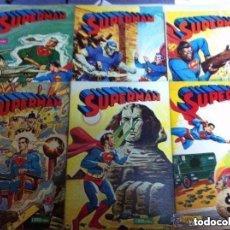 Tebeos: SUPERMAN - LOTE DE 12 EJEMPLARES -MUY BIEN CONSERVADOS- A ESCOGER: 12,50€. Lote 182087768
