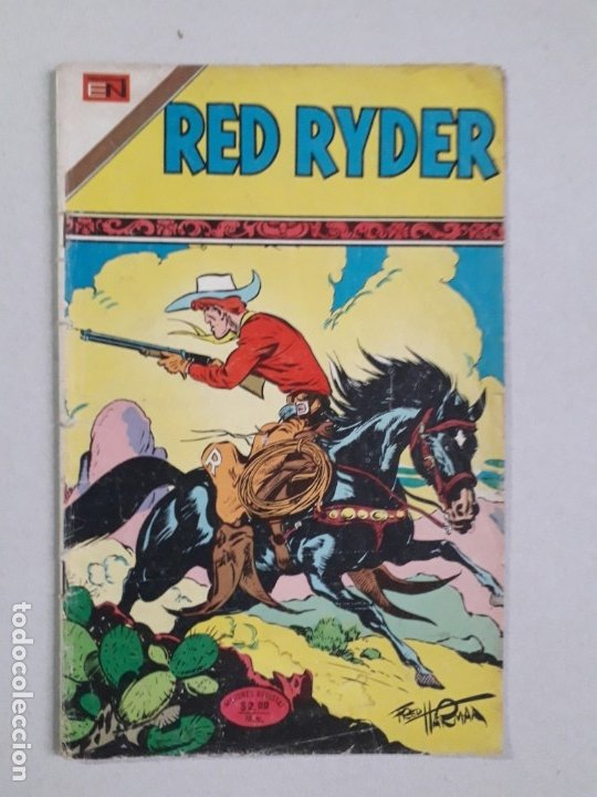 RED RYDER N° 335 - ORIGINAL EDITORIAL NOVARO (Tebeos y Comics - Novaro - Red Ryder)
