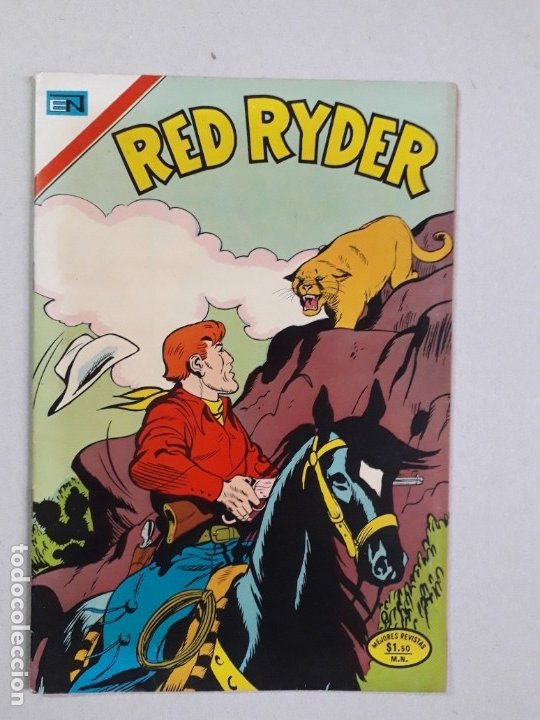 RED RYDER N° 313 - ORIGINAL EDITORIAL NOVARO (Tebeos y Comics - Novaro - Red Ryder)