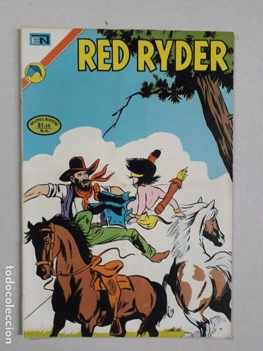 RED RYDER N° 298 - ORIGINAL EDITORIAL NOVARO (Tebeos y Comics - Novaro - Red Ryder)