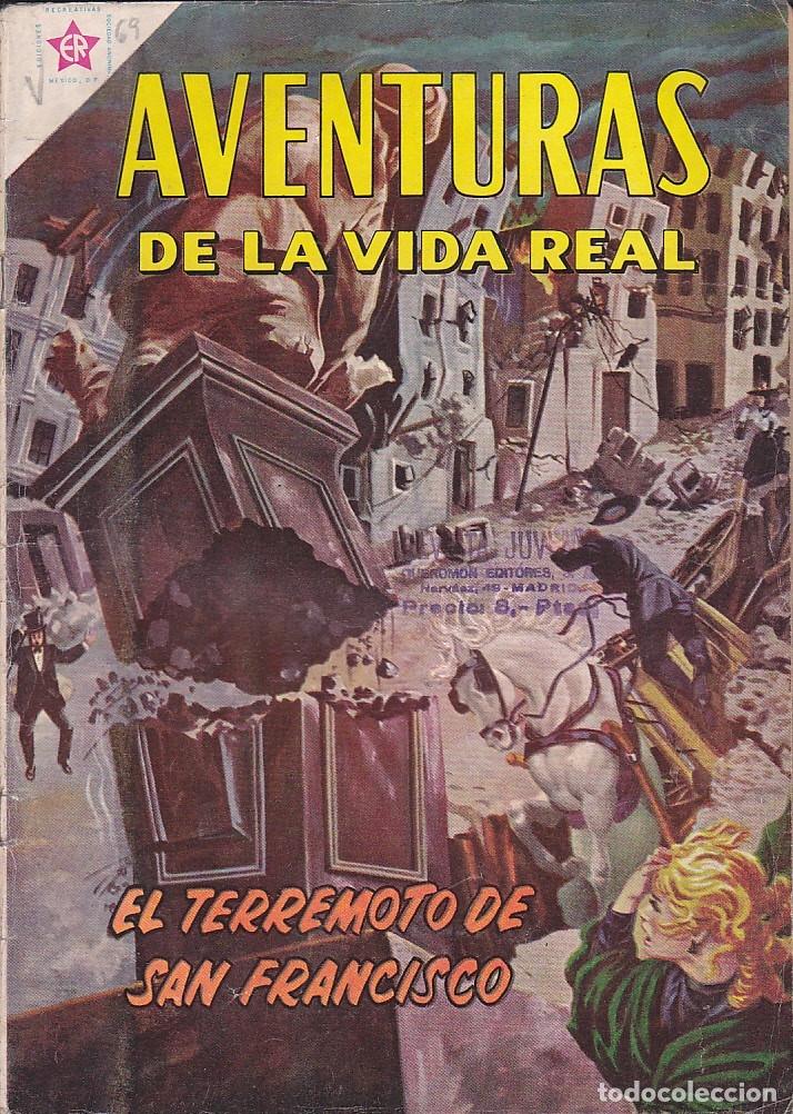 AVENTURAS DE LA VIDA REAL Nº 69 (Tebeos y Comics - Novaro - Otros)