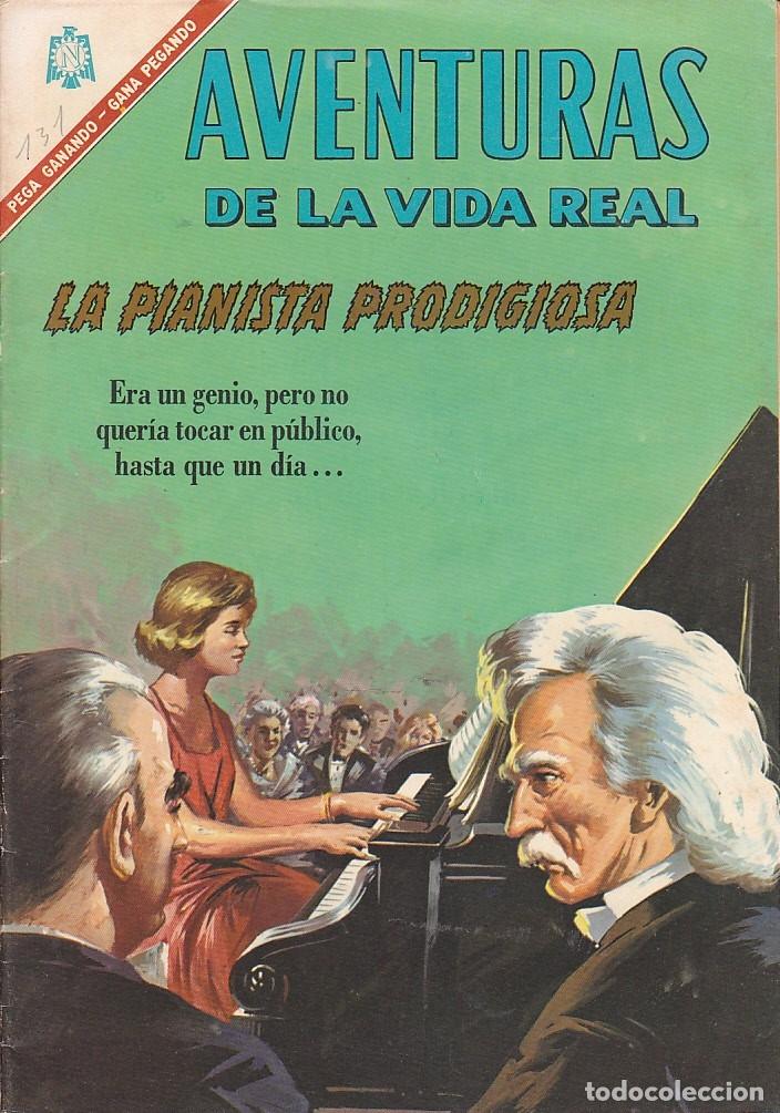AVENTURAS DE LA VIDA REAL Nº 131 (Tebeos y Comics - Novaro - Otros)