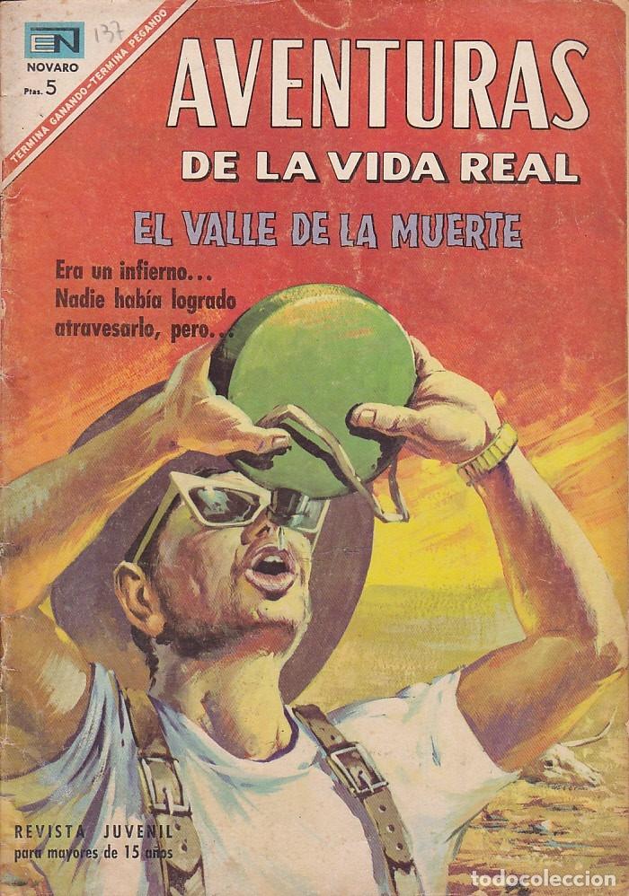 AVENTURAS DE LA VIDA REAL Nº 137 (Tebeos y Comics - Novaro - Otros)
