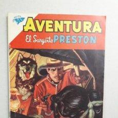 Tebeos: AVENTURA N° 167 - EL SARGENTO PRESTON - ORIGINAL EDITORIAL NOVARO. Lote 182203702