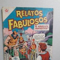 Tebeos: RELATOS FABULOSOS N° 6 - EL NOVELISTA FANTÁSTICO - ORIGINAL EDITORIAL NOVARO. Lote 182203893