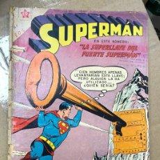 Tebeos: SUPERMÁN 206: LA SUPERLLAVE DEL FUERTE SUPERMÁN, 1959, NOVARO, BUEN ESTADO. Lote 182230826