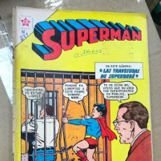Tebeos: SUPERMAN NOVARO Nº 381 1963 - LAS TRAVESURAS DE SUPERMAN. Lote 182233850