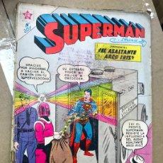 Tebeos: COMIC SUPERMAN EDICIONES RECREATIVAS Nº 301 AÑO 1961 - EL ASALTANTE ARCO IRIS. Lote 182234345