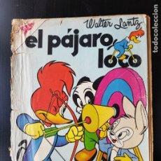 Tebeos: TEBEO / CÓMIC 1958 ORIGINAL EL PÁJARO LOCO N 142 REVISTA SEA NOVARO MUY DIFÍCIL OSWALDO. Lote 182252347