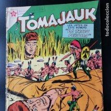 Tebeos: TEBEO / CÓMIC 1958 ORIGINAL TOMAJAUK N 38 REVISTA SEA NOVARO MUY DIFÍCIL LA TRIBU PERDIDA . Lote 182297202