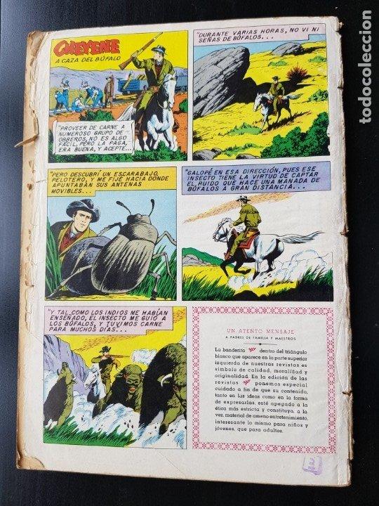 Tebeos: TEBEO / CÓMIC 1958 ORIGINAL CLÁSICOS DEL CINE N 25 REVISTA SEA NOVARO MUY DIFÍCIL CHEYENE - Foto 2 - 182298802