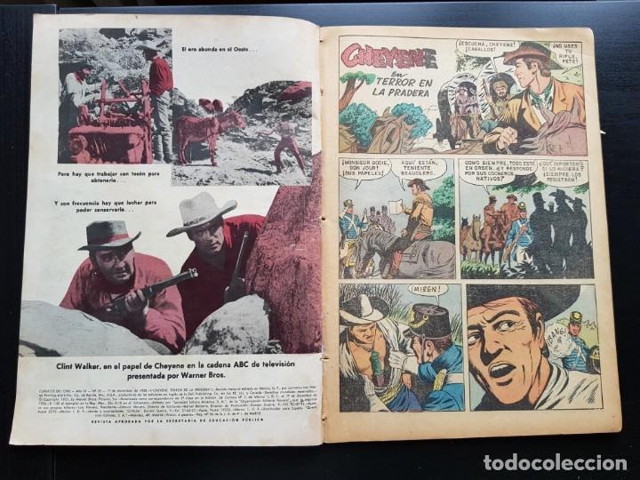 Tebeos: TEBEO / CÓMIC 1958 ORIGINAL CLÁSICOS DEL CINE N 25 REVISTA SEA NOVARO MUY DIFÍCIL CHEYENE - Foto 3 - 182298802