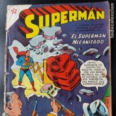 Tebeos: TEBEO / CÓMIC 1958 ORIGINAL EL SUPERMAN MECANIZAD N 141 REVISTA SEA NOVARO MUY DIFÍCIL . Lote 182301720