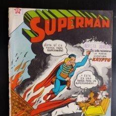 Tebeos: TEBEO / CÓMIC 1958 ORIGINAL SUPERMAN N 139 REVISTA SEA NOVARO MUY DIFÍCIL AVENTURA DE KRYPTO. Lote 182303378