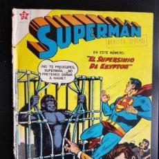 Tebeos: TEBEO / CÓMIC 1958 ORIGINAL SUPERMAN N 137 REVISTA SEA NOVARO MUY DIFÍCIL EL SUPERSIMIO DE KRYPTO. Lote 182303931
