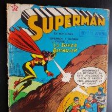 Tebeos: TEBEO /CÓMIC 1958 ORIGINAL SUPERMAN Y BATMAN N 135 REVISTA SEA NOVARO MUY DIFÍCIL LA SUPER BATIMUJER. Lote 182306040