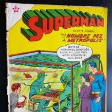 Tebeos: TEBEO /CÓMIC 1958 ORIGINAL SUPERMAN Y JAIME OLSEN N 134 REVISTA SEA NOVARO MUY DIFÍCIL . Lote 182308122