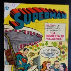 Tebeos: TEBEO /CÓMIC 1954 ORIGINAL SUPERMAN N 42 REVISTA SEA NOVARO MUY DIFÍCIL . Lote 182310422