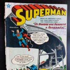 Tebeos: TEBEO /CÓMIC 1955 ORIGINAL SUPERMAN N 50 REVISTA SEA NOVARO MUY DIFÍCIL LA ORQUESTA DE VILLACHICA. Lote 182311008