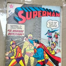 Tebeos: SUPERMÁN - AÑO IX - Nº 257 - 21 DE SEPTIEMBRE DE 1960 *** NOVARO - MÉXICO EDICIONES RECREATIVAS***. Lote 182330128