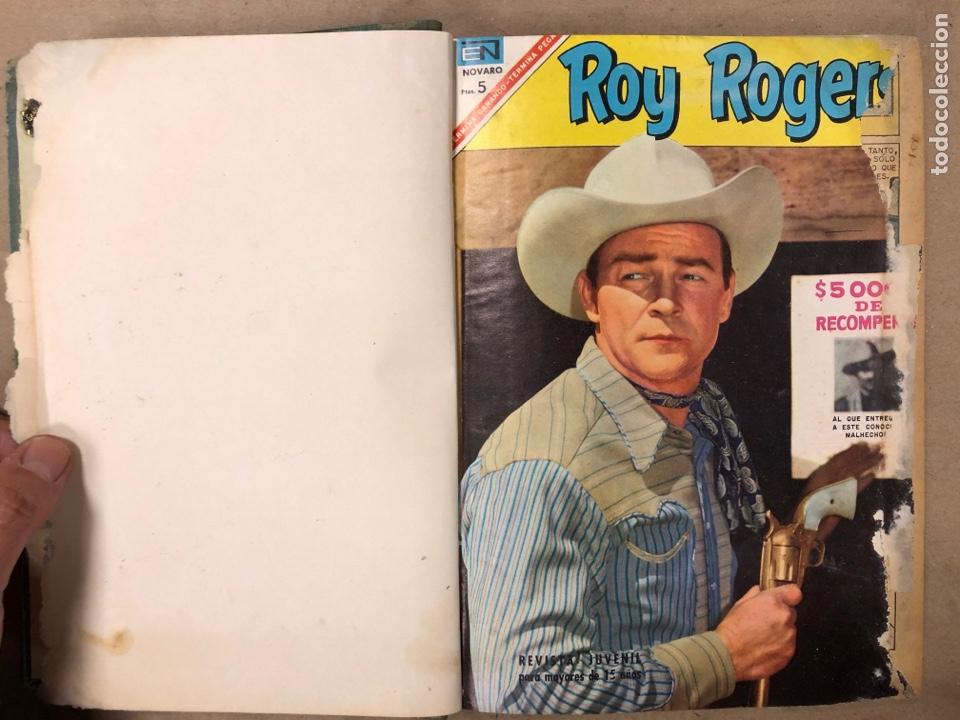 Tebeos: TOMO CON 14 TEBEOS ENCUADERNADOS DE EDITORIAL NOVARO (ROY ROGERS, HOPALONG, TOMAJAUK, RED RYDER) - Foto 3 - 182333256