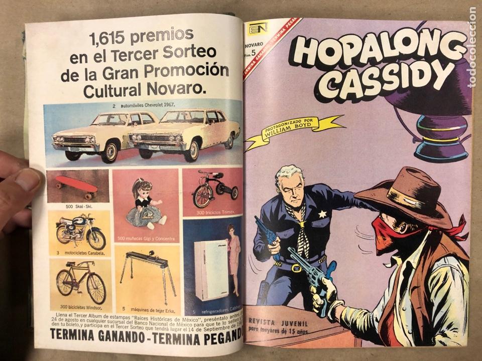 Tebeos: TOMO CON 14 TEBEOS ENCUADERNADOS DE EDITORIAL NOVARO (ROY ROGERS, HOPALONG, TOMAJAUK, RED RYDER) - Foto 5 - 182333256