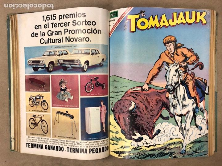 Tebeos: TOMO CON 14 TEBEOS ENCUADERNADOS DE EDITORIAL NOVARO (ROY ROGERS, HOPALONG, TOMAJAUK, RED RYDER) - Foto 6 - 182333256