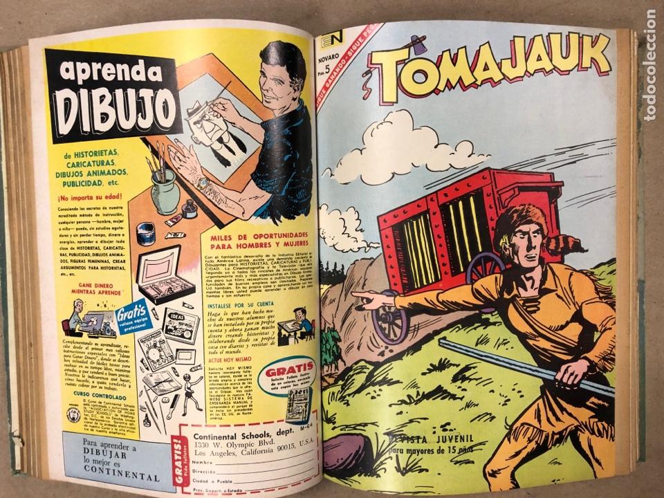 Tebeos: TOMO CON 14 TEBEOS ENCUADERNADOS DE EDITORIAL NOVARO (ROY ROGERS, HOPALONG, TOMAJAUK, RED RYDER) - Foto 7 - 182333256