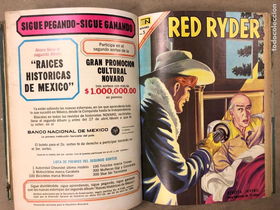 Tebeos: TOMO CON 14 TEBEOS ENCUADERNADOS DE EDITORIAL NOVARO (ROY ROGERS, HOPALONG, TOMAJAUK, RED RYDER) - Foto 8 - 182333256