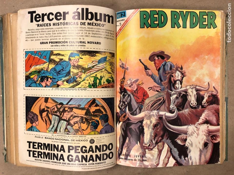Tebeos: TOMO CON 14 TEBEOS ENCUADERNADOS DE EDITORIAL NOVARO (ROY ROGERS, HOPALONG, TOMAJAUK, RED RYDER) - Foto 9 - 182333256
