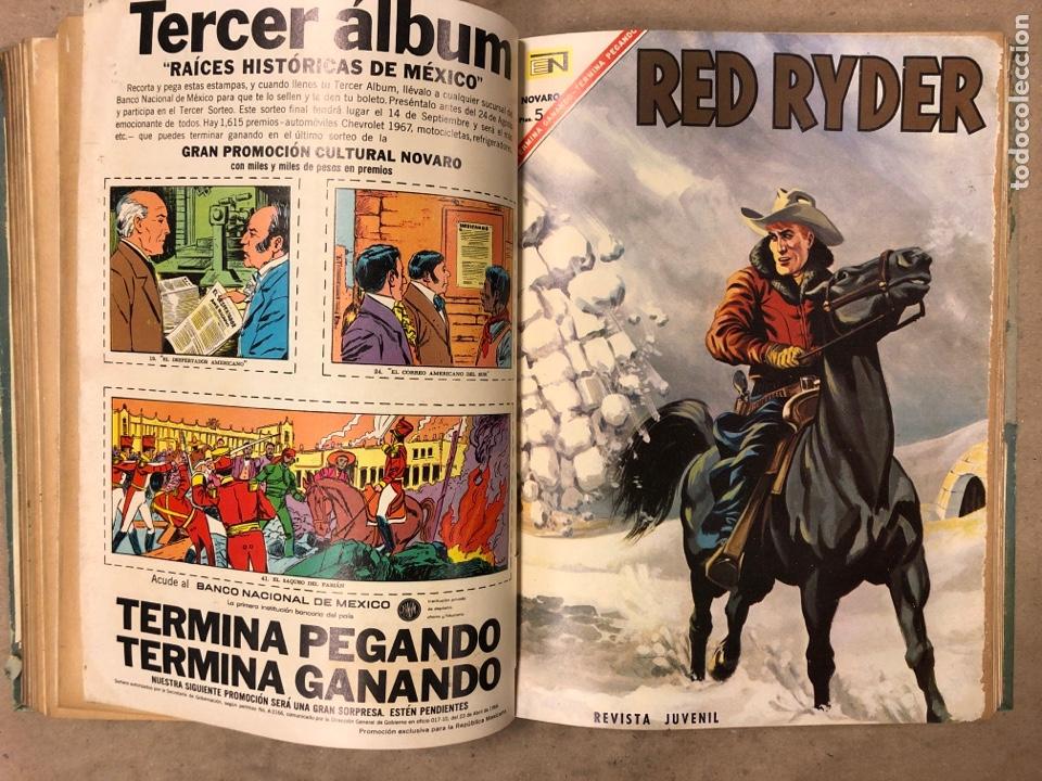 Tebeos: TOMO CON 14 TEBEOS ENCUADERNADOS DE EDITORIAL NOVARO (ROY ROGERS, HOPALONG, TOMAJAUK, RED RYDER) - Foto 10 - 182333256
