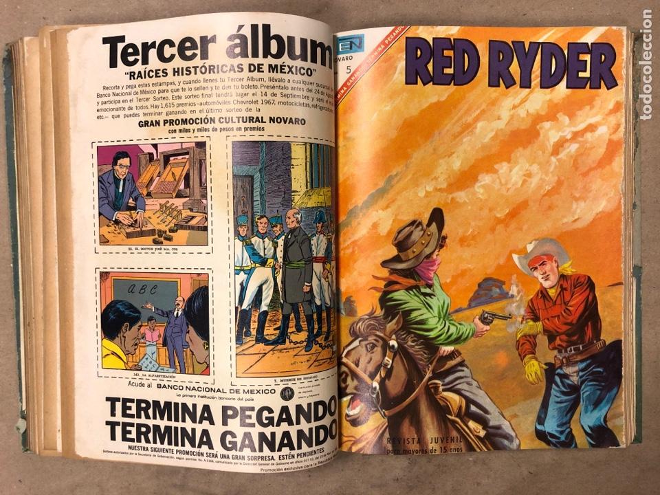 Tebeos: TOMO CON 14 TEBEOS ENCUADERNADOS DE EDITORIAL NOVARO (ROY ROGERS, HOPALONG, TOMAJAUK, RED RYDER) - Foto 11 - 182333256