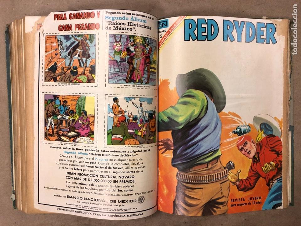 Tebeos: TOMO CON 14 TEBEOS ENCUADERNADOS DE EDITORIAL NOVARO (ROY ROGERS, HOPALONG, TOMAJAUK, RED RYDER) - Foto 14 - 182333256