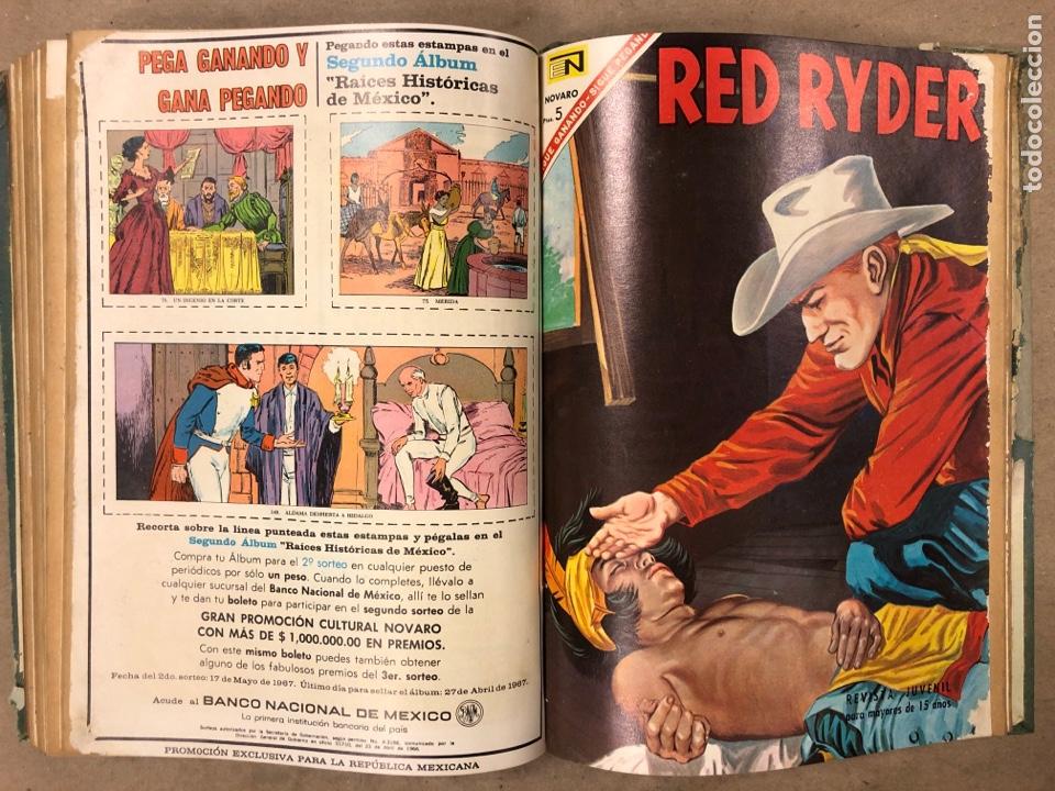 Tebeos: TOMO CON 14 TEBEOS ENCUADERNADOS DE EDITORIAL NOVARO (ROY ROGERS, HOPALONG, TOMAJAUK, RED RYDER) - Foto 15 - 182333256