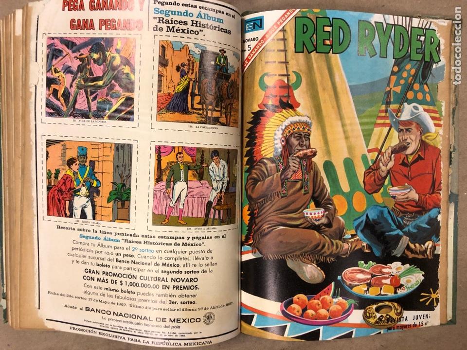 Tebeos: TOMO CON 14 TEBEOS ENCUADERNADOS DE EDITORIAL NOVARO (ROY ROGERS, HOPALONG, TOMAJAUK, RED RYDER) - Foto 16 - 182333256