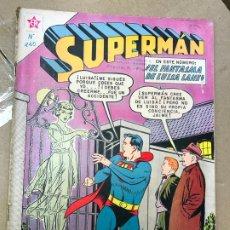 Tebeos: SUPERMAN - EL FANTASMA DE LUISA LANE - AÑO IX Nº 240 1960 EDITORIAL NOVARO - AÑOS 60. Lote 182426660