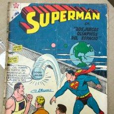 Tebeos: SUPERMAN Nº 142 NOVARO LOS JUEGOS . Lote 182426963