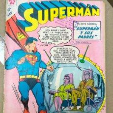 Tebeos: SUPERMAN Nº 225 NOVARO SUPERMAN Y SUS PADRES. Lote 182427565